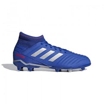 Zapatilla de Futbol Predator 19.3 Fg Junior Color azul Marca Adidas