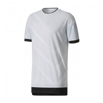 Polera Trg manga corta Poliester color Blanco Hombre Marca Adidas