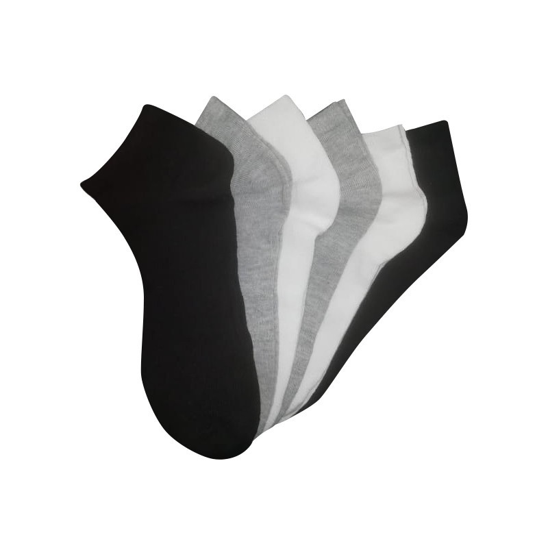 Calcetines Pack 6 Unisex tricolor Marca O2