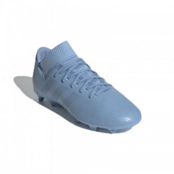 Zapatilla de Futbol Nemeziz Messi 18.3 Junior Color azul Marca Adidas