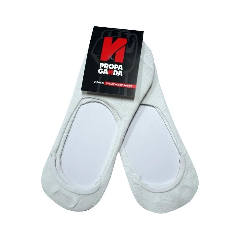 Calcetines Invisibles para Hombres color Blanco Marca PropaGanda
