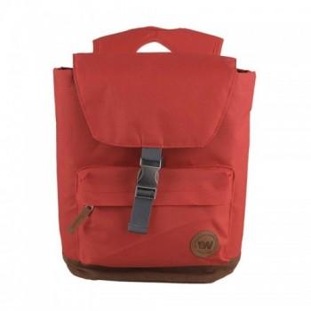 Mochila Casual 12L en color Rojo para Mujer Marca Weinbrenner
