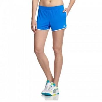 Short de Tenis Mesh 3.5 color Azul  Mujer Marca Wilson