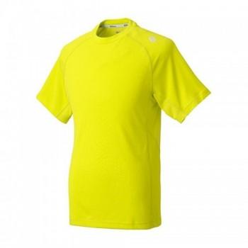 Polera Emboss Crew Junior Color Amarillo Marca Wilson con descuento