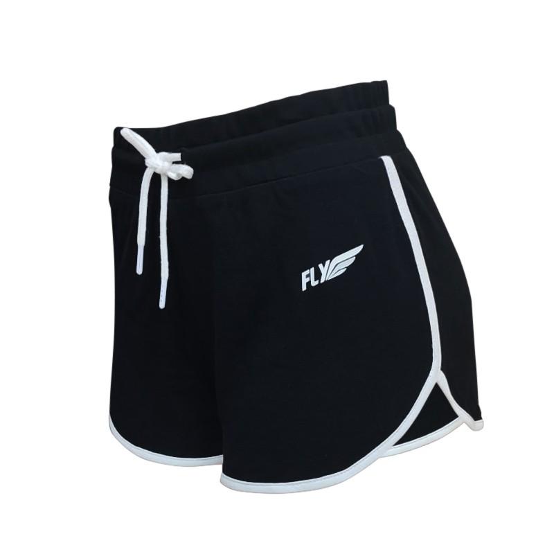 Short Essential para Mujer en color negro Marca Fly